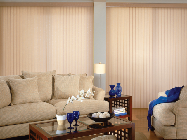 Vertical Blinds - Rosalie Nougat