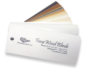 Fauxwood Blinds