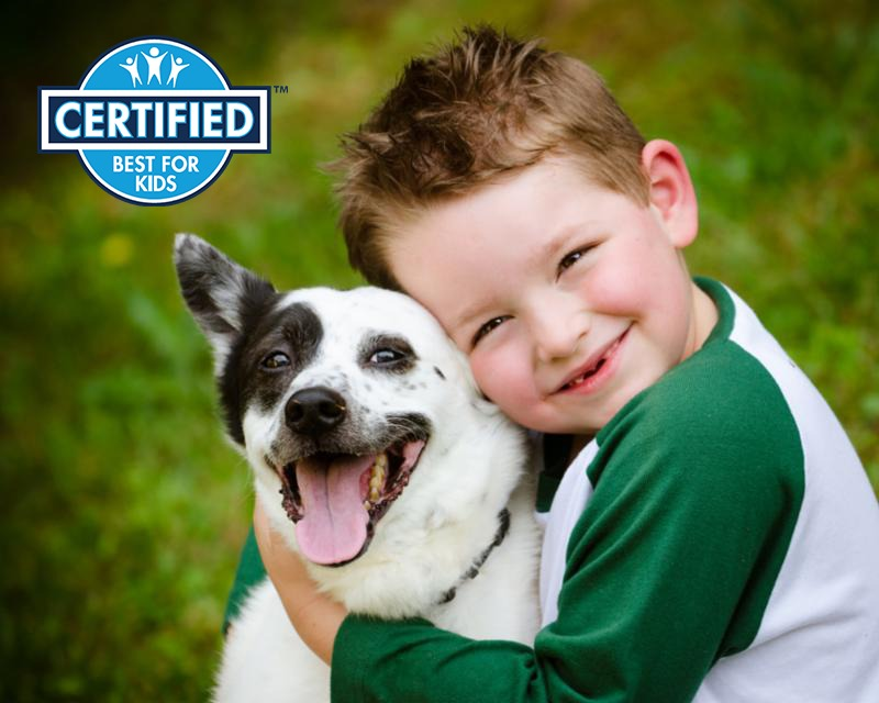 Best for Kids_Child and Dog