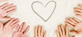 Hands Together Around Heart